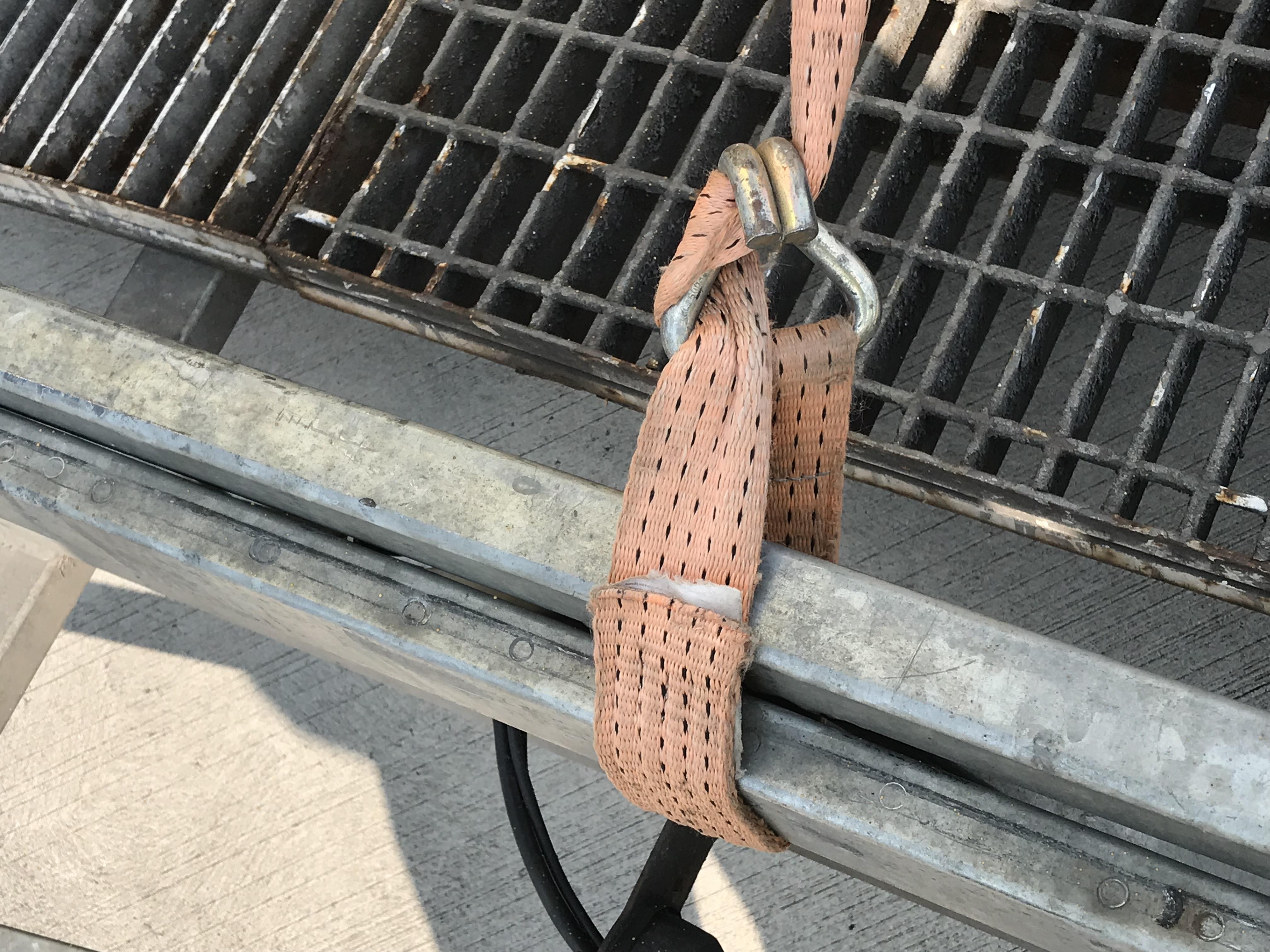 Ladungssicherung Schlingenzurren???