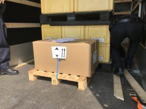 Ladungssicherung von LQ