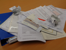 Zu viele Dokumente