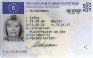 Fahrerqualifizierungsnachweis